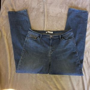 Levis perfectly slimming 512 straight leg 14 32x32